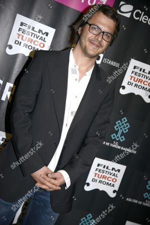 Turkish Actor Mehmet Gunsur Poses During the Photocall For 'Se Mi Dimentico Sussurra' ('whisper if i Forget') in Rome Italy 16 April 2015 the Movie Opens the Fourth Edition of the Turkish Film Festival Which Runs From 16 to 19 April Italy Rome (italy)