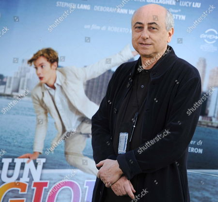 Italian Director Roberto Faenza Poses For a Photograph During the Photocall For His Movie in Rome Italy 23 February 2012 the Movie Will Be Release in Italian Theatres on 24 February Italy Roma