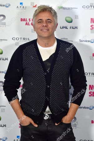 Italian Actor/cast Member Dino Abbrescia Poses During the Photocall For 'Non C'e' 2 Senza Te' (lit: There is No 'Second Without You) in Rome Italy 28 January 2015 Italy Rome