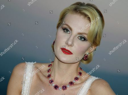 Russian Actress Renata Litvinova Poses During a Party on Occasion of the Taormina Film Festival in Taormina Sicily Island Italy 17 June 2013 the 59th Edition of the Festival Runs From 15 Until 22 June Italy Taormina