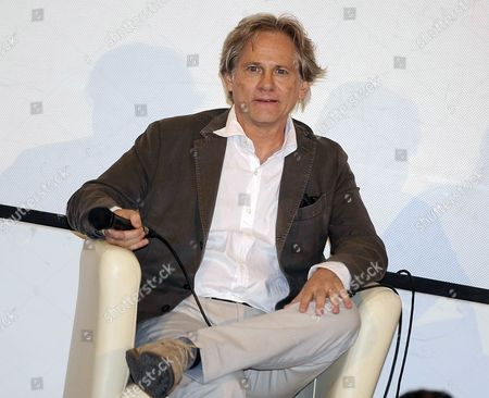 Italian Actor Giulio Scarpati Attends the 'Campus' with the Students Event During the 60th Taormina Film Festival in Taormina Sicily Island Italy 19 June 2014 the Festival Runs From 14 to 21 June Italy Taormina