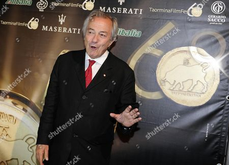 Italian Actor Remo Girone Attends the 'Citta Di Taormina - La Botte' Award Ceremony at the Teatro Antico During the 60th Annual Taormina Film Festival Festival Taormina Sicily Island Italy 16 June 2014 the Festival Runs From 14 to 21 June Italy Taormina (messina)