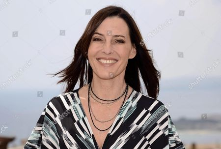 Us Producer Director and Actress Cecilia Peck Poses For Photographers During the 61th Taormina Film Festival in Taormina Sicily Island Italy 17 June 2015 the Festival Runs From 13 to 20 June Italy Taormina (messina)