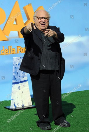 Us Actor and Cast Member Danny De Vito Poses For Photographs During the Photocall For the Movie 'Dr Seuss' the Lorax (lit: Lorax-il Guardiano Della Foresta) in Rome Italy 09 March 2012 the Movie Will Be Released in Italian Cinemas on 01 June Italy Rome