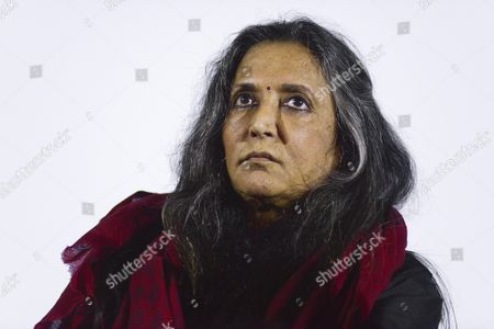 Indian-canadian Film Director Deepa Mehta Attends the Press Conference For Her Movie 'Midnight's Children' Based on the Novel by Salman Rushdie in Rome Italy 22 March 2013 Italy Roma
