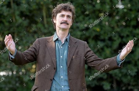 Italian Director Edoardo Winspeare Poses During the Photocall For the Movie 'In Grazia Di Dio' (english Title: Quiet Bliss) in Rome Italy 21 March 2014 Italy Rome
