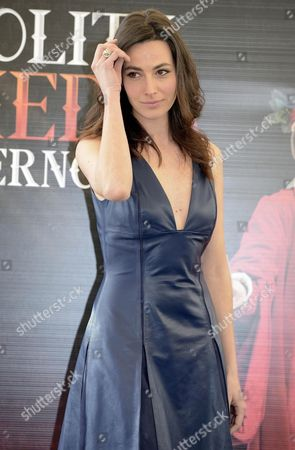 Italian Actress/cast Member Daniela Virgilio Poses During the Photocall For the Movie 'La Solita Commedia-inferno' in Rome Italy 12 March 2015 the Movie Will Be Released in Italian Theaters on 19 March Italy Rome