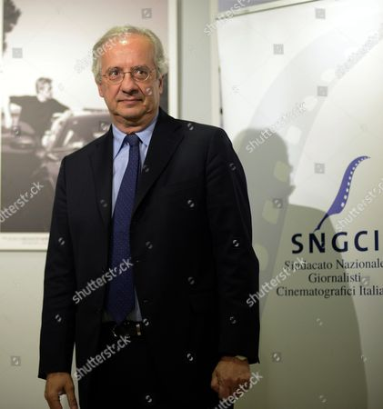 Italian Politician Journalist and Director Walter Veltroni Arrives For the 2015 Nastri D'argento (silver Ribbon) Awards Ceremony in Rome Italy 03 March 2015 the Awards Are Presented Annually by Sindacato Nazionale Dei Giornalisti Cinematografici Italiani (sngci) the Association of Italian Film Critics Italy Rome