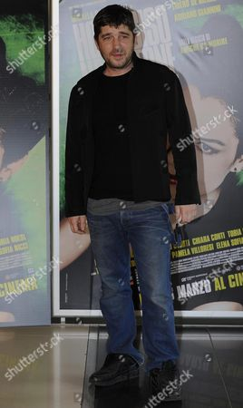 Stock Image of Italian Actor/cast Member Libero De Rienzo Poses During the Photocall of 'Ho Ucciso Napoleone' (i Killed Napoleon) in Rome Italy 24 March 2015 the Movie Will Be Released on 26 March in Italian Theaters Italy Rome