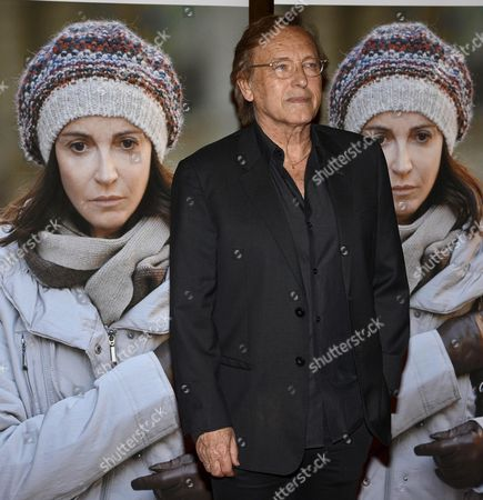 French Algerian-born Film Director Alexandre Arcady Arrives For the Red Carpet of His Movie '24 Days' in Rome Italy 06 May 2015 Italy Rome