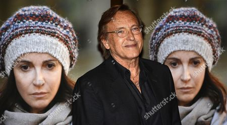 French Algerian-born Film Director Alexandre Arcady Arrives For the Premiere of His Movie '24 Days' in Rome Italy 06 May 2015 the Movie Will Be Released in Italian Theaters on 07 May Italy Rome