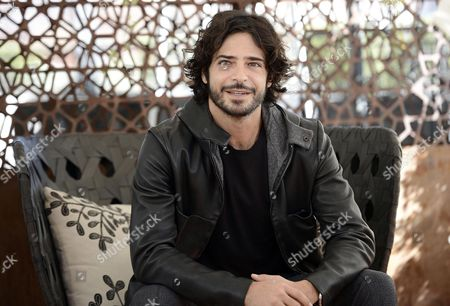 Italian Actor and Cast Member Marco Bocci Poses During a Photocall For 'Scusate Se Esisto!' in Rome Italy 14 November 2014 the Movie Will Be Released in Italian Theaters on 20 November Italy Rome