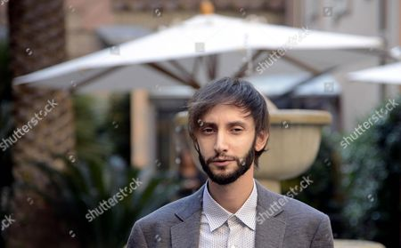 Stock Image of Italian Actor Francesco Formichetti Poses For Photographs During the Photocall For the Movie 'Torneranno i Prati' in Rome Italy 03 November 2014 the Movie Will Be Released in Italian Theaters on 06 November Italy Rome