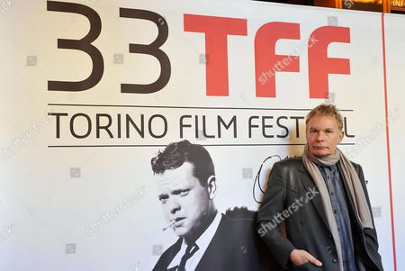 British Filmmaker Julien Temple the Guest Director of the 33rd Torino Film Festival Poses in Turin Italy 28 November 2015 the Event Runs From 20 to 28 November Italy Turin