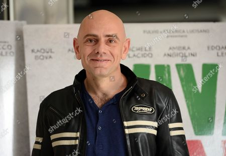 Italian Actor Rolando Ravello Poses For Photographs During the Photocall For the Movie 'Viva L'italia' by Italian Director Massimiliano Bruno in Rome Italy 22 October 2012 the Movie Will Be Released in Italian Cinemas on 25 October Italy Rome