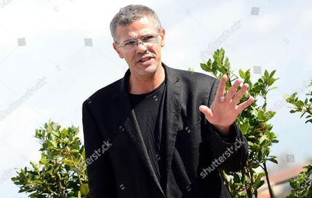 Tunisian-french Director Abdel Kechiche Poses During a Photocall For 'La Vie D'adele' (blue is the Warmest Color) in Rome Italy 16 October 2013 the Movie Will Be Released in Italian Cinemas on 24 October Italy Rome