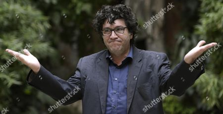 Stock Picture of Italian Director Daniele Cipri Poses During the Photocall For 'La Buca' (the Hole) in Rome Italy 18 September 2014 the Movie Will Premiere in Italian Theaters on 25 September Italy Rome