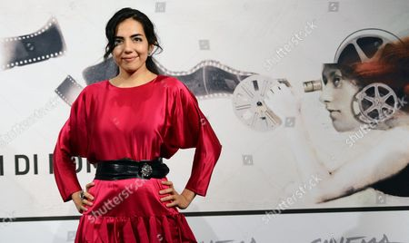 Stock Picture of Actress Tina Rodriguez Poses During the Photocall For the Movie 'Marfa Girl' by Us Director Larry Clark at the Seventh Annual Rome Film Festival in Rome Italy 12 November 2012 the Movie is Presented in Competition at the Festival That Runs From 09 to 17 November Italy Rome