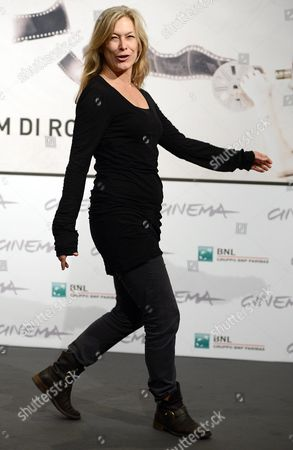 Actress Mary Farley Poses During the Photocall For the Movie 'Marfa Girl' by Us Director Larry Clark at the Seventh Annual Rome Film Festival in Rome Italy 12 November 2012 the Movie is Presented in Competition at the Festival That Runs From 09 to 17 November Italy Rome