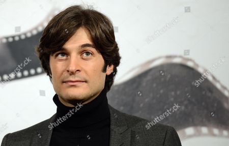Italian Actor Lino Guanciale Poses During the Photocall For the Movie 'Il Volto Di Un'altra' (the Face of Another) by Italian Director Pappi Corsicato at the 7th Annual Rome Film Festival in Rome Italy 12 November 2012 the Movie is Presented in Competition at the Festival That Runs From 09 to 17 November Italy Rome