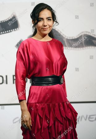 Actress Tina Rodriguez Poses During the Photocall For the Movie 'Marfa Girl' by Us Director Larry Clark at the Seventh Annual Rome Film Festival in Rome Italy 12 November 2012 the Movie is Presented in Competition at the Festival That Runs From 09 to 17 November Italy Rome