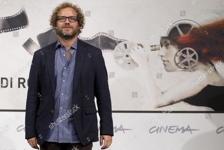 Mexican Director Enrique Rivero Poses During the Photocall For the Movie 'Mai Morire' (never Die) at the 7th International Rome Film Festival in Rome Italy 13 November 2012 the Movie is Presented in Competition at the Festival That Runs From 09 to 17 November Italy Rome