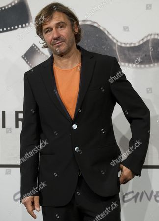 Italian Director Corrado Sassi Poses For the Photographers During the Photocall For the Movie 'Waves' at the 7th International Rome Film Festival in Rome 13 November 2012 the Festival Runs From 09 to 17 November Italy Rome