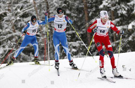 Editorial photo of Italy Cross Country Skiing Tour De Ski - Jan 2012