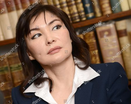 The Wife of Kazakh Oligarch and Political Dissident Mukhtar Ablyazov Alma Shalabayeva During a Press Conference in Rome Italy 31 January 2014 Alma Shalabayeva Returned to Italy on 27 December 2013 Shalabayeva and Her Then Six-year-old Daughter Were Deported on a Private Jet to Kazakhstan After They Were Arrested in May 2013 in a Raid on a Villa in Rome by Italian Police Following Pressure From Kazakh Officials Causing a Major International Scandal Italy Repealed Her Expulsion Order After It Emerged Shalabayeva Had the Legal Right to Reside in Italy According to Ansa News Agency Italy Rome