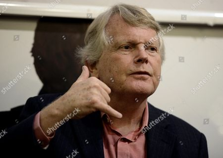 A Picture Made Available on 19 November 2014 Shows British Conservative Politician and Author Michael Dobbs Speaks During a Press Conference where He Presented His Novel House of Cards in Rome Italy 18 November 2014 Italy Rome