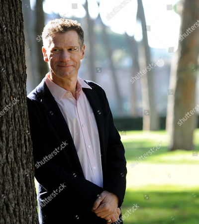 Us Writer Peter Cameron Author of the Book That Inspired the Movie Poses During the Photocall For the Movie 'Someday This Pain Will Be Useful to You' (un Giorno Questo Dolore Ti Sara' Utile) by Italian Director Roberto Faenza in Rome Italy 23 February 2012 Italy Roma