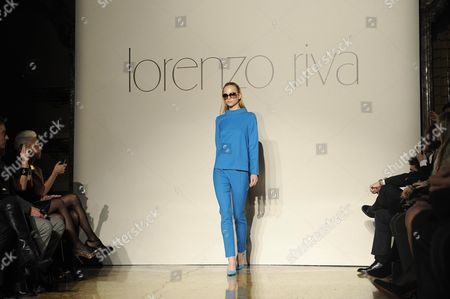 Editorial picture of Italy Milan Fashion Week - Feb 2013