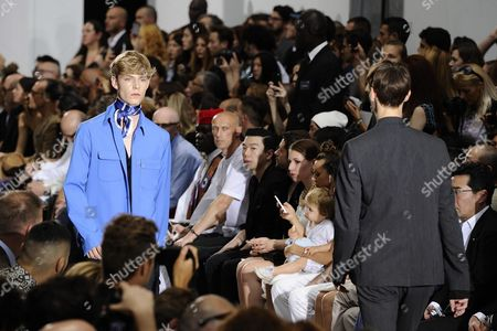 Models Present Creations From the Spring/summer 2015 Menswear Collection of Italian Designer Ennio Capasa For His Label Costume National Homme During the Milan Men's Fashion Week in Milan Italy 21 June 2014 the Milano Moda Uomo Runs From 21 to 24 June Italy Milan