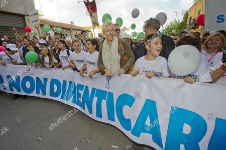 Editorial photo of Italy Politics Mafia Protest - May 2013