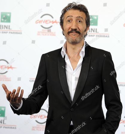 French Actor Hocine Choutri Poses During the Photocall For 'The Narrow Frame of Midnight' (itar El-layl) at the 9th Annual Rome Film Festival in Rome Italy 17 October 2014 the Festival Runs From 16 to 25 October Italy Rome