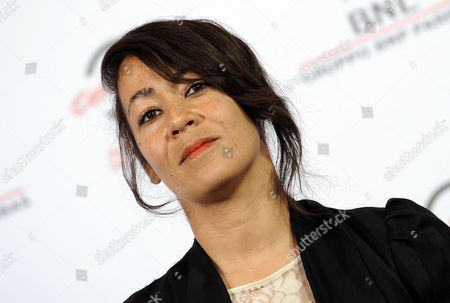 British Director Tala Hadid Poses During the Photocall For 'The Narrow Frame of Midnight' (itar El-layl) at the 9th Annual Rome Film Festival in Rome Italy 17 October 2014 the Festival Runs From 16 to 25 October Italy Rome