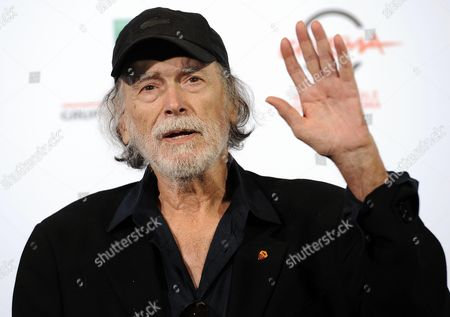 Cuban-born Us Actor an Italian Citizen Tomas Milian Poses During a Photocall at the 9th Annual Rome Film Festival in Rome Italy 16 October 2014 Tomas Milian Will Receive the Marc'aurelio Acting Award During the Opening Ceremony at the Festival That Runs From 16 to 25 October Italy Rome