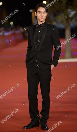 Japanese Actor Sota Fukushi Arrives For the Premiere of 'Kamisama No Iu Tori' (eng: As the Gods Will) at the 9th Annual Rome Film Festival in Rome Italy 18 October 2014 the Festival Runs From 16 to 25 October Italy Rome