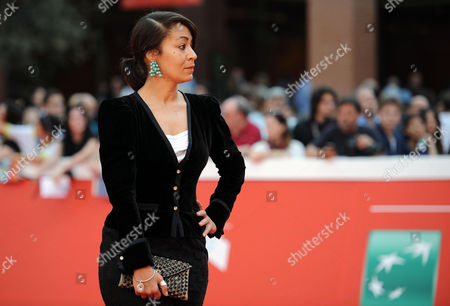 British Director Tala Hadid Arrives For the Premiere of 'The Narrow Frame of Midnight' (itar El-layl) at the 9th Annual Rome Film Festival in Rome Italy 17 October 2014 the Festival Runs From 16 to 25 October Italy Rome
