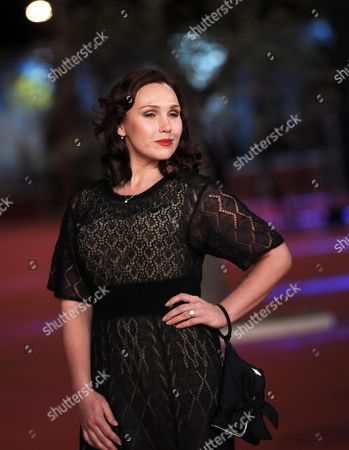 Russian Actress Darya Ekamasova Arrives For the Premiere of the Movie 'Angels of Revolution (lit:angely Revolucii)' at the 9th Annual Rome Film Festival in Rome Italy 22 October 2014 the Festival Runs From 16 to 25 October Italy Rome