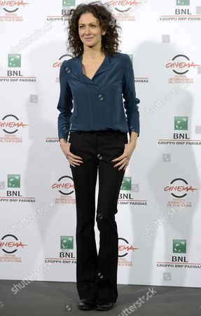 Russian Actress Ksenia Rappoport Poses During the Photocall For 'La Foresta Di Ghiaccio' (the Ice Forest) at the 9th Annual Rome Film Festival in Rome Italy 23 October 2014 the Festival Runs From 16 to 25 October Italy Rome