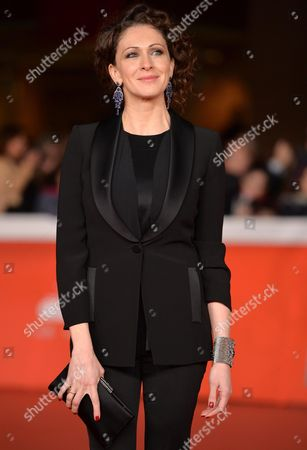 Russian Actress Ksenia Rappoport Arrives on the Red Carpet For the Premiere of the Movie 'La Foresta Di Ghiaccio' at the 9th Annual Rome Film Festival in Rome Italy 23 October 2014 the Festival Runs From 16 to 25 October Italy Rome