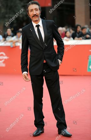 French Actor Hocine Choutri Arrives For the Premiere of 'The Narrow Frame of Midnight' (itar El-layl) at the 9th Annual Rome Film Festival in Rome Italy 17 October 2014 the Festival Runs From 16 to 25 October Italy Rome