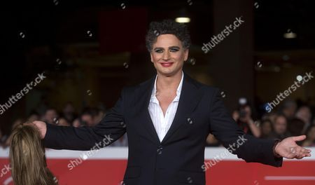 Stock Picture of Italian Actor Leandro Amato Arrives on the Red Carpet For the Premiere of the Movie 'Tre Tocchi' at the 9th Annual Rome Film Festival in Rome Italy 21 October 2014 the Festival Runs From 16 to 25 October Italy Rome