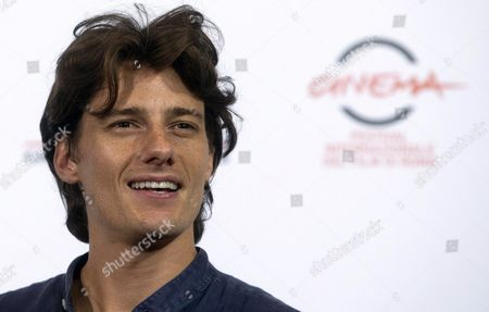 Italian Actor/cast Member Antonio Folletto Poses For the Photographers During the Photocall For the Movie 'Tre Tocchi' at the 9th Annual Rome Film Festival in Rome Italy 21 October 2014 the Festival Runs From 16 to 25 October Italy Rome