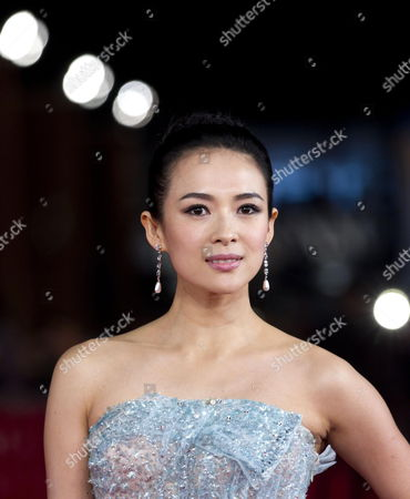 Chinese Actress Zhang Ziyi Arrives For the Premiere of the Movie 'Love For Life' at the 6th Annual Rome Film Festival in Rome Italy 02 November 2011 the Movie by Chinese Director Gu Changwei is Presented in Competition at the Film Festival Runs From 27 October to 04 November Italy Rome