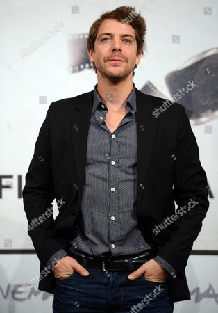 Dutch Actor Ramsey Nasr Poses During the Photocall For the Movie 'Goltzius and the Pelican Company' at the Seventh Annual Rome Film Festival in Rome Italy 12 November 2012 the Movie is Presented out Competition at the Festival That Runs From 09 to 17 November Italy Rome