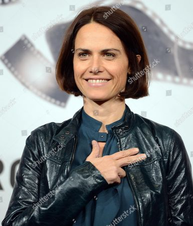 Italian Director Alina Marazzi Poses During a Photocall For 'Tutto Parla Di Te' (all About You) at the Seventh Annual International Rome Film Festival in Rome Italy 15 November 2012 the Movie is Presented in the Cinema Xxi Selection at the Festival That Runs From 09 to 17 November Italy Rome