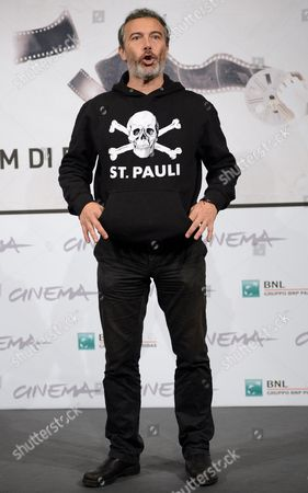 Italian Actor Paolo Sassanelli Poses During the Photocall For the Movie 'Cosimo E Nicole' at the Seventh Annual Rome Film Festival in Rome Italy 16 November 2012 the Movie is Presented out Competition at the Festival That Runs From 09 to 17 November Italy Rome