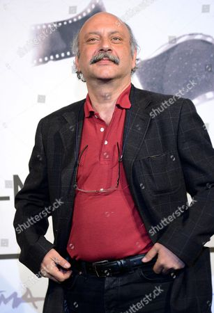 Prospettive Italia Jury Member Babak Karimi Poses During the International and Prospettive Italia Jury Photocall During the Seventh Annual Rome Film Festival in Rome Italy 09 November 2012 the Movie is Presented out Competition at the Festival That Runs From 09 to 17 November Italy Rome
